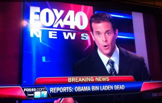 Obama Bine Laden is dead